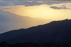 Sunset on Shira Plateau