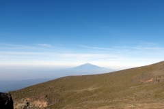 Mount Meru in the East