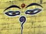 Nepal. Oczy Buddy