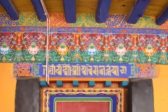 Door of the Jokhang temple