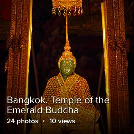 Bangkor. Temple of the Emerald Buddha