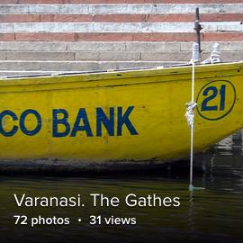Varanasi. The Gates